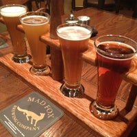 Photo taken at Mad Fox Brewing Company by Kirby I. on 1/31/2013