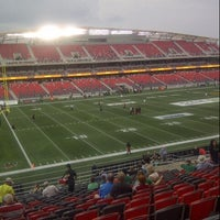 Photo taken at TD Place Stadium by Victoria C. on 8/2/2014