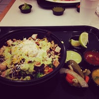 Photo taken at La Salsa Fresh Mexican Grill by Rick D. on 2/21/2014