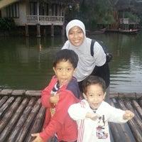 Photo taken at Kampung Sampireun by Nuke S. on 12/15/2012