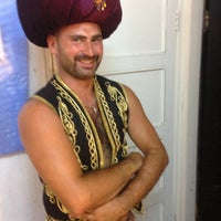 Photo taken at Crystal Beach Anfi-theatre by Özgür on 7/30/2014