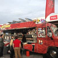 Photo taken at Fukuburger Truck by Matt L. on 1/9/2013