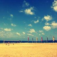 Photo taken at Suma Beach by tuba c. on 7/21/2013