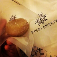 Photo taken at Mochi Sweets (Japanese Luxury Sweets) by Angel W. on 12/27/2013