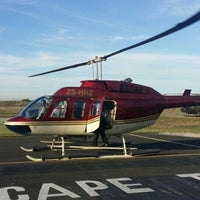 Photo taken at Helicopters CapeTown by Siang O. on 5/7/2015