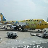 Photo taken at HND Terminal 2 by Miki F. on 6/22/2013