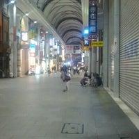 Photo taken at Hiroshima Hondori Shotengai by Miki F. on 9/18/2012