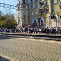 Photo taken at Поезд РЭКС Москва — Можайск by Alexander M. on 9/25/2015