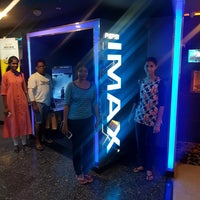 Photo taken at PVR IMAX by Aathirayan S. on 7/29/2017