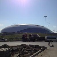 Снимок сделан в Олимпийский парк пользователем Дмитрий 6/14/2013