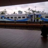 Photo taken at Stasiun Malang by Intan Nabeela on 12/27/2012