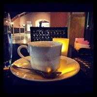 Photo taken at Emporio Armani Café- The Pearl Qatar by Fahad J. on 11/1/2012