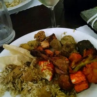 Photo taken at 8Elements Perfect Indian Cuisine by Movie L. on 7/7/2016
