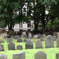 Photo taken at King's Chapel Burying Ground by Roger on 7/11/2013