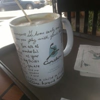 Photo taken at Caribou Coffee by Mansour ✅ on 2/13/2013