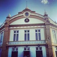 Photo taken at Teatro Ribeiragrandense by Tiago Q. on 6/24/2013