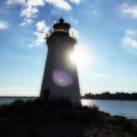 Photo taken at Seaside Park Lighthouse by kHyal™ |. on 8/9/2015