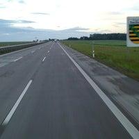 Photo taken at Landesgrenze Sachsen / Thüringen by CoF on 6/7/2014