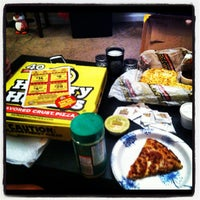 Photo taken at Hungry Howie's Pizza by Trey A. on 7/8/2013