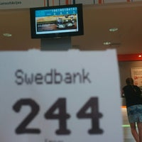 "Photo taken at Swedbank ""Centrs"" by Lotārs R. on 8/12/2014"