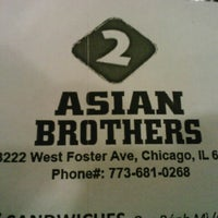 Photo taken at 2 Asian Brothers by elijah A. on 10/29/2012