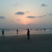 Photo taken at Benaulim Beach by Manisha S. on 4/28/2013