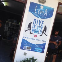 Photo taken at Lepia Dive Center by Poly on 9/3/2014