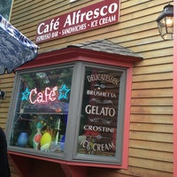Photo taken at Cafe Alfresco by Julie S. on 7/9/2013