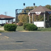 Photo taken at Rochelle Railroad Park by Greg S. on 10/8/2012