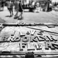Photo taken at Brooklyn Flea - Fort Greene by Joe Moose D. on 7/6/2013