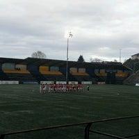 Photo taken at Estadio Ruben Marcos Peralta by Felipe R. on 9/15/2012