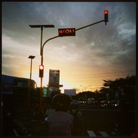 Photo taken at Perempatan Ring Road Gejayan by Sony A. on 1/30/2013
