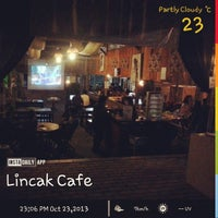 Photo taken at Lincak Cafe by Sony A. on 10/23/2013