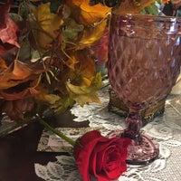 Photo taken at The Secret Garden Tea Cafe & Gift Shoppe by Liz on 11/4/2016