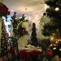 Photo taken at The Secret Garden Tea Cafe & Gift Shoppe by Liz on 11/29/2012