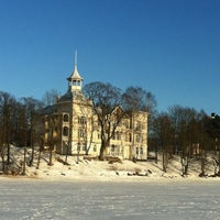 Photo taken at Töölönlahti / Tölöviken by Mino H. on 3/21/2013