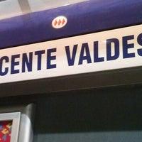 Foto tomada en Metro Vicente Valdés por Sebastián Alajandro V. el 1/25/2013