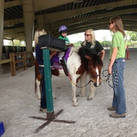 Photo taken at Vinceremos Therapeutic Riding Center by Amanda S. on 4/18/2013