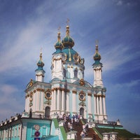 Снимок сделан в Андреевская церковь пользователем Irina S. 5/4/2013