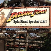 Photo taken at Indiana Jones Epic Stunt Spectacular! by Mark K. on 4/28/2013