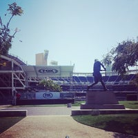 Photo taken at Tony Gwynn Statue by James H. on 4/21/2014