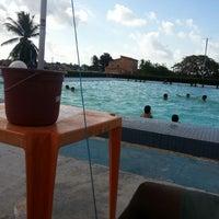 Photo taken at Salinas Praia Clube by Waldemir B. on 11/25/2012
