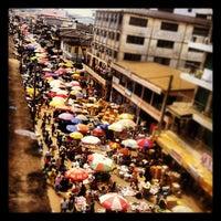 Photo taken at Makola Market by Edomia zaide B. on 10/27/2012