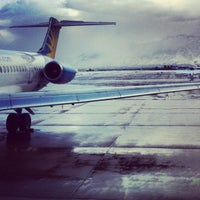 Photo taken at Ogden Hinkley Airport (OGD) by Ashley on 10/25/2012