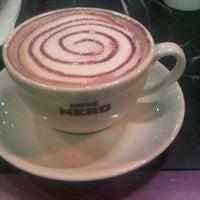 Photo taken at Caffè Nero by Caner S. on 12/17/2012