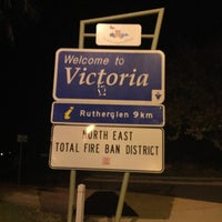 Photo taken at Victoria/New South Wales Border by David R. on 5/16/2015
