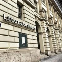 Photo taken at Literaturhaus by myMunich.de on 2/21/2013