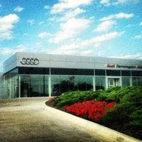 Photo taken at Audi Farmington Hills by Brandon B. on 10/8/2012