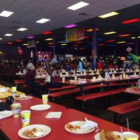 Photo taken at Peter Piper Pizza by Esther C. on 4/25/2014