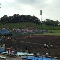 Photo taken at いせはらサンシャインスタジアム by Kazutaka S. on 7/17/2014